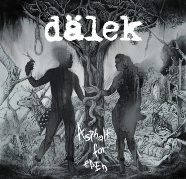 "Dälek ‎– Asphalt For Eden 12"" ( Clear Vinyl )"