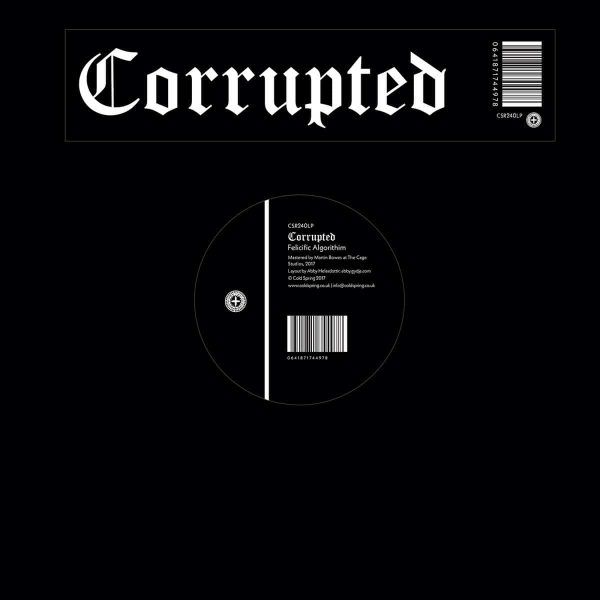 "Corrupted – Felicific Algorithim 12"""