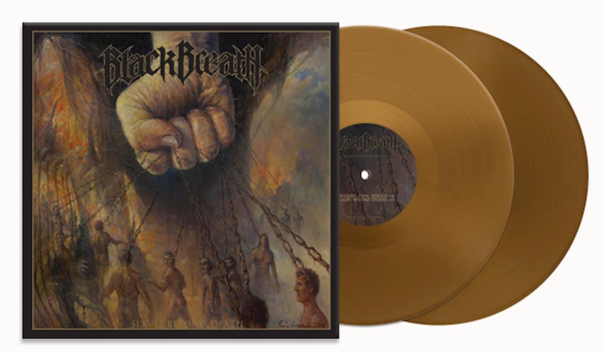 "Black Breath – Slaves Beyond Death 2x12"" (Gold Vinyl)"