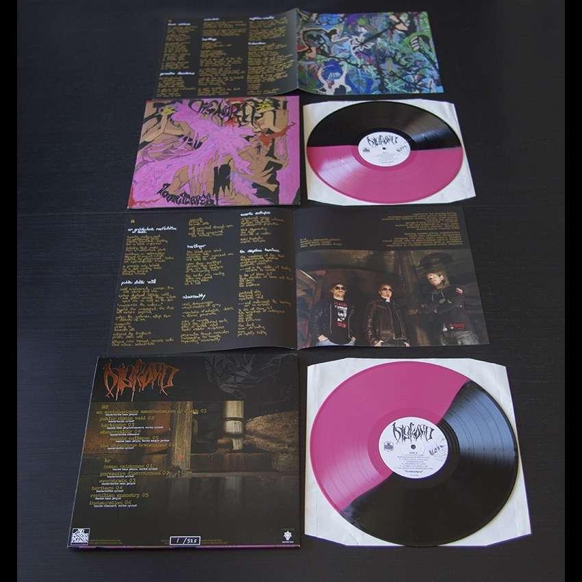"""Diskord – Doomscapes 12"""" (Pink/Black Vinyl)"""