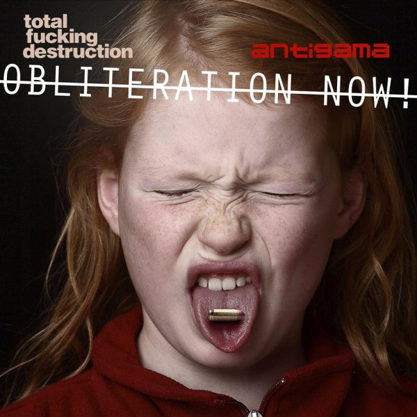 "Antigama / Total Fucking Destruction 7"" split ( Red Vinyl )"
