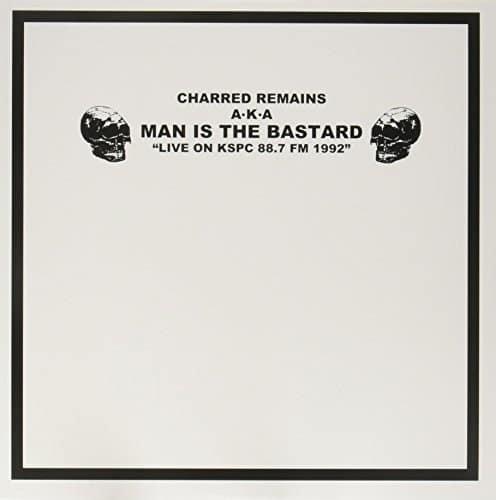 "Man Is The Bastard – Live On KSPC 88.7 FM 1992 12"" (Marble Vinyl)"