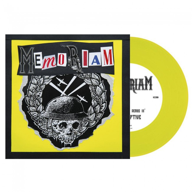 "Memoriam ‎– The Hellfire Demos III 7"" (Yellow Neon)"
