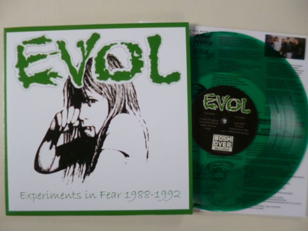 """Evol – Experiments In Fear 1988-1992 10"""""""