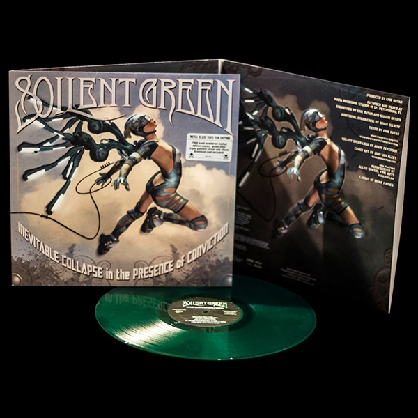 "Soilent Green ‎– Inevitable Collapse In The Presence Of Conviction 12"" (Green Vinyl)"