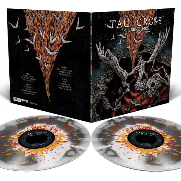 """Tau Cross – Pillar Of Fire 2x12"""" (Splatter Vinyl)"""