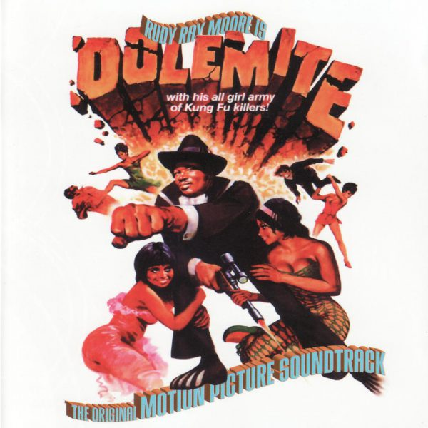 "Rudy Ray Moore ‎– Dolemite The Soundtrack 12"" (Clear Vinyl )"
