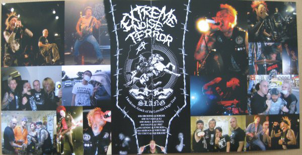 Extreme Noise Terror / Slang ‎– Hardcore Attack Of The Low Life Dogs 7""