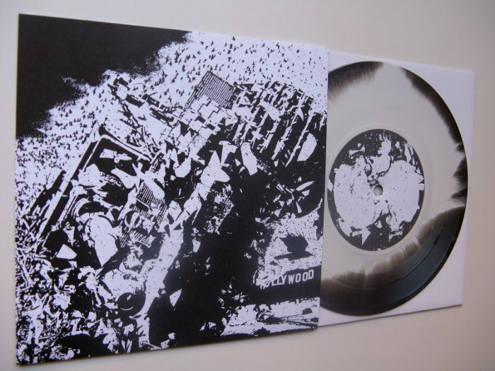 Extreme Noise Terror / Trap Them ‎– Extreme Noise Terror / Trap Them 7""
