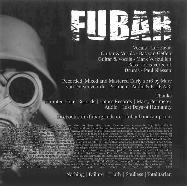 "Last Days Of Humanity / FUBAR - Last Days Of Humanity / FUBAR 9"""