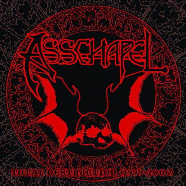 """Asschapel – Total Destruction (1999-2006) 2x12"""" + DVD (Brown Vinyl)"""