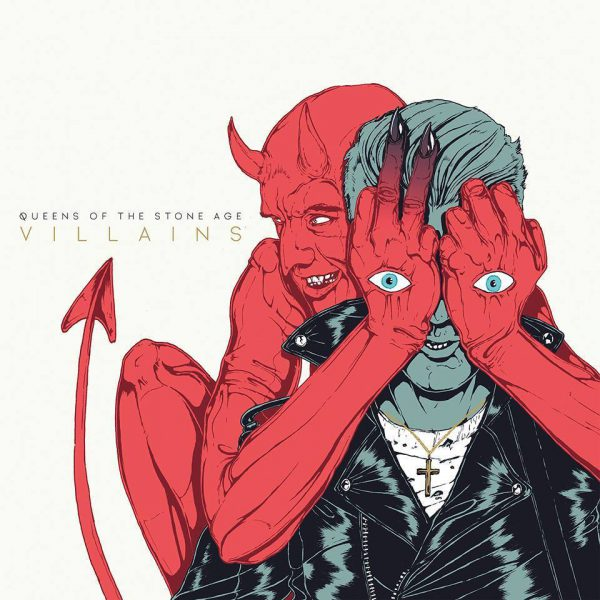 Queens Of The Stone Age ‎– Villains 2x12""