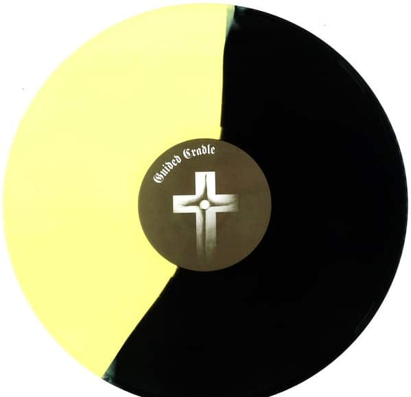 "Guided Cradle ‎– System Survivers 12"" ( Yellow/Black Split Color Vinyl)"