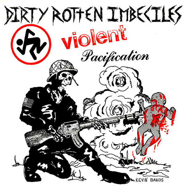 """D.R.I. - Violent Pacification 7"""" ( Red/Blue/Clear/Green ... Vinyl)"""