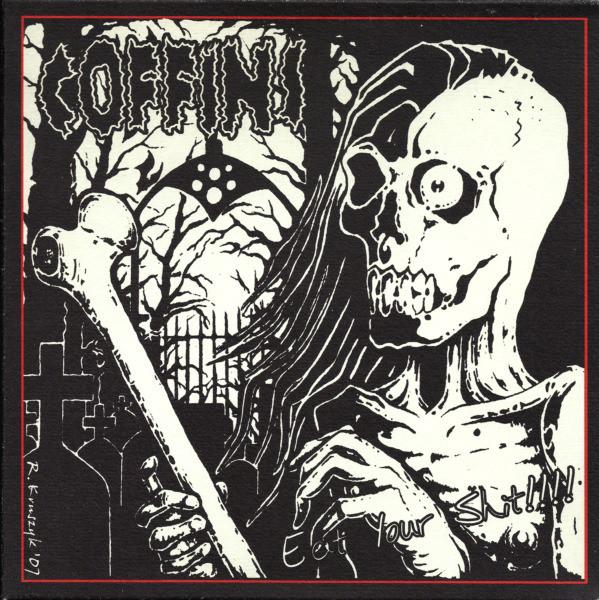 "Coffins / Lobotomized 7"" split"