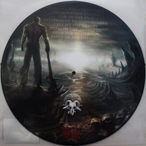 "Devourment ‎– Unleash The Carnivore 12"" Picture Disc"