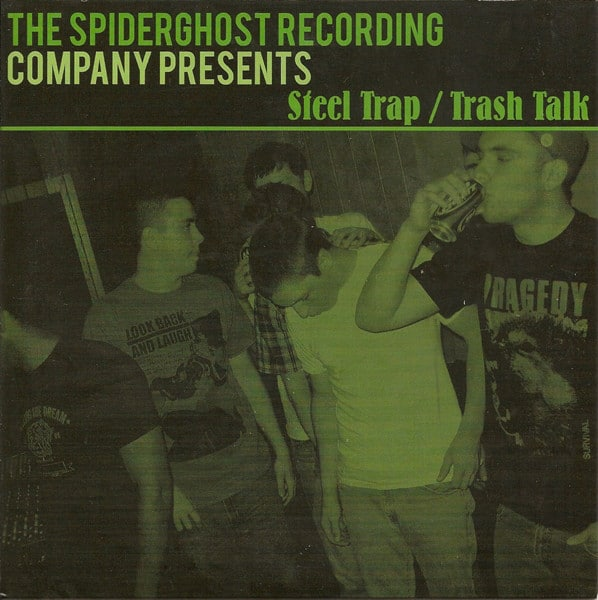 "Trash Talk / Steel Trap 7"" split ( Splater Vinyl)"