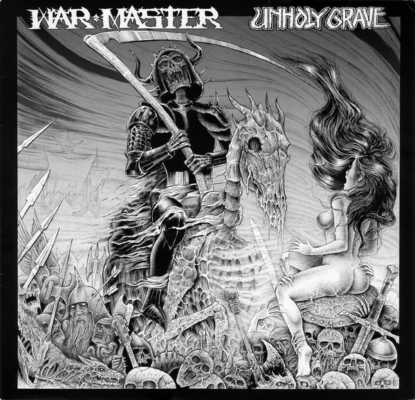 """War Master / Unholy Grave 12"""" split"""