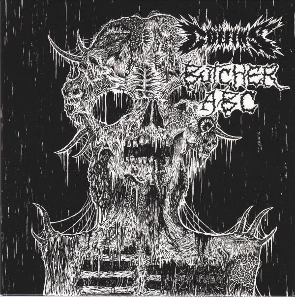 """Coffins / Butcher ABC 7"""" split"""