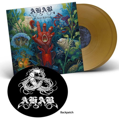 Ahab – The Boats Of The Glen Carrig 2x12' (color vinyl + woven backpatch)