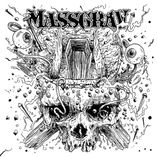 "Massgrav / Kronofogden 7"" split"