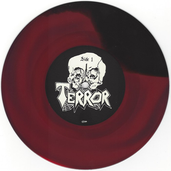 """Terror – Legion Of Gore 7"""" (Red and Black Marble)"""
