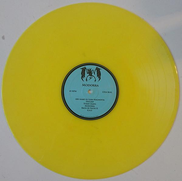 "Bodybag / Modorra 12"" ( Yellow Vinyl )"