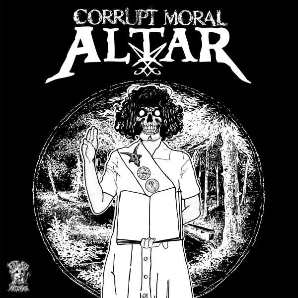 "Hicks Kinison / Corrupt Moral Altar 7""split ep"