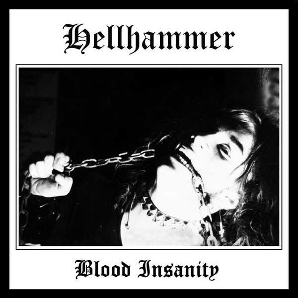 "Hellhammer – Blood Insanity 7"" ( Black/ Silver/Red/PicDisc )"