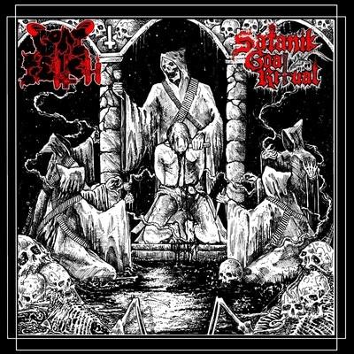 "Satanik Goat Ritual / Goat Felch 7"" split"