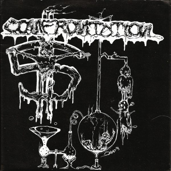 "Confrontation – Dead Against The War 7"""