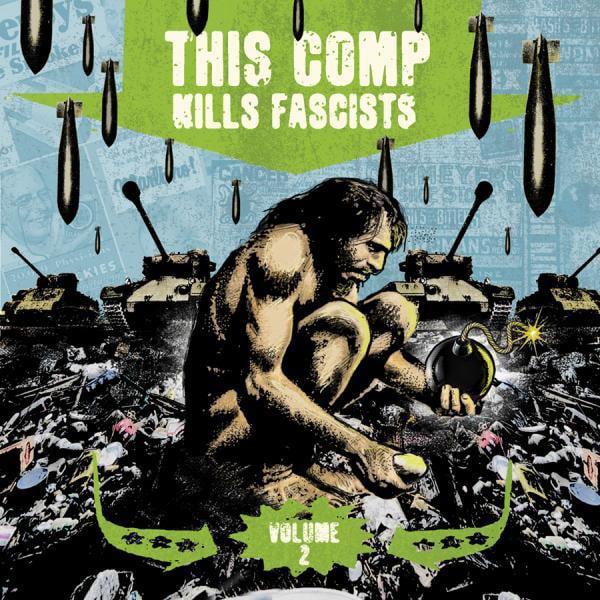 v/a -This Comp Kills Fascists Volume 2 -2×12″