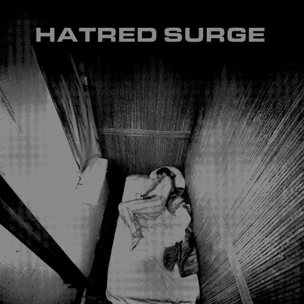 "Hatred Surge ‎– Isolated Human 7"" (Clear Vinyl)"