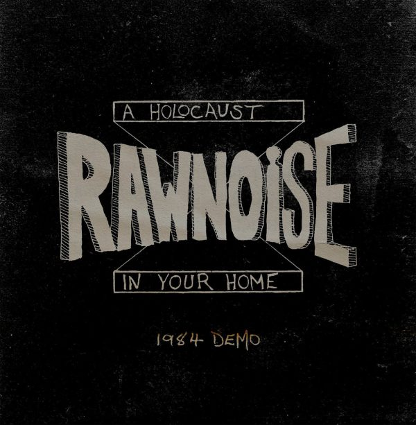 """Raw Noise – A Holocaust In Your Home (Demo) 12"""" (faux leather cover / black vinyl )"""