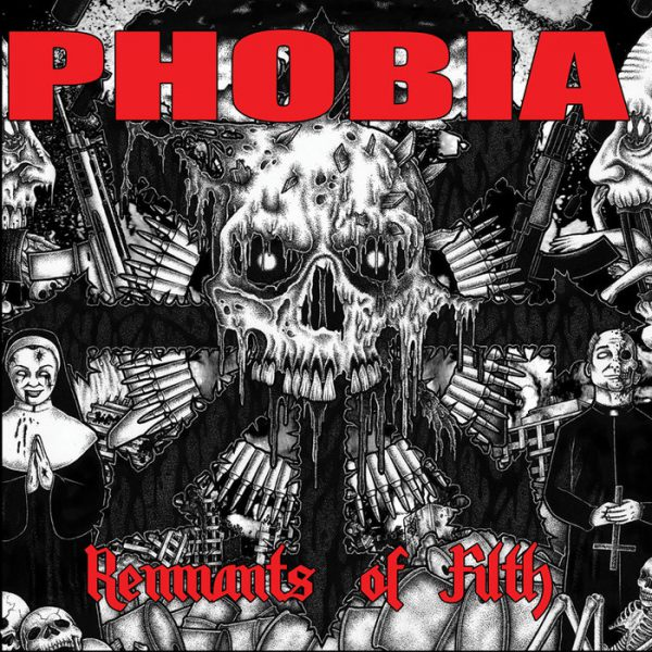 Phobia ‎– Remnants Of Filth 12""