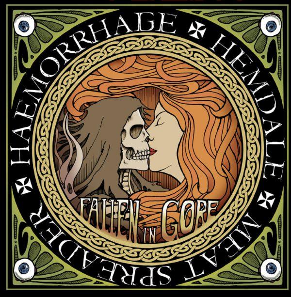 "Haemorrhage / Hemdale / Meat Spreader – Fallen In Gore 12"" (Colors ...)"