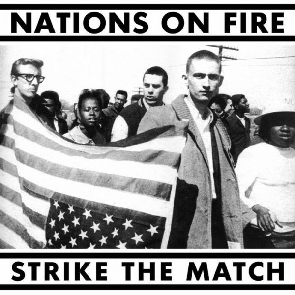 "Nations On Fire ‎– Strike The Match 12"" ( Strive Records press)"