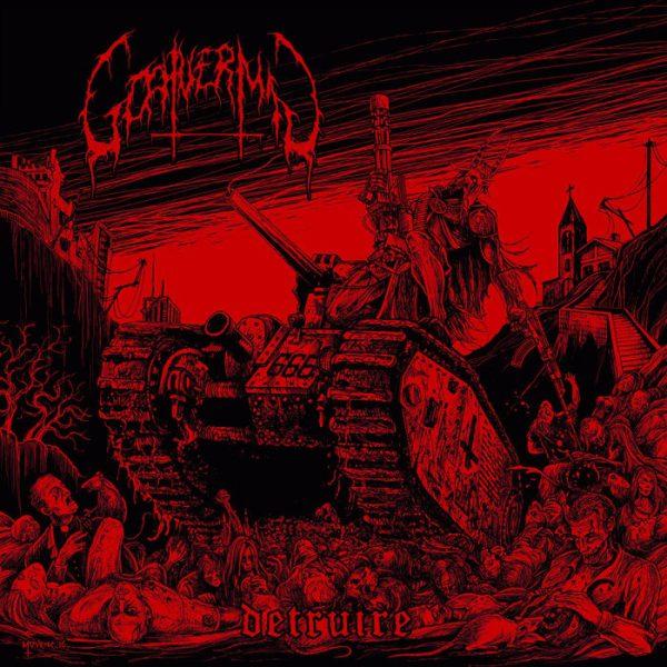 """Goatvermin – Détruire 12"""" (Red Vinyl)"""