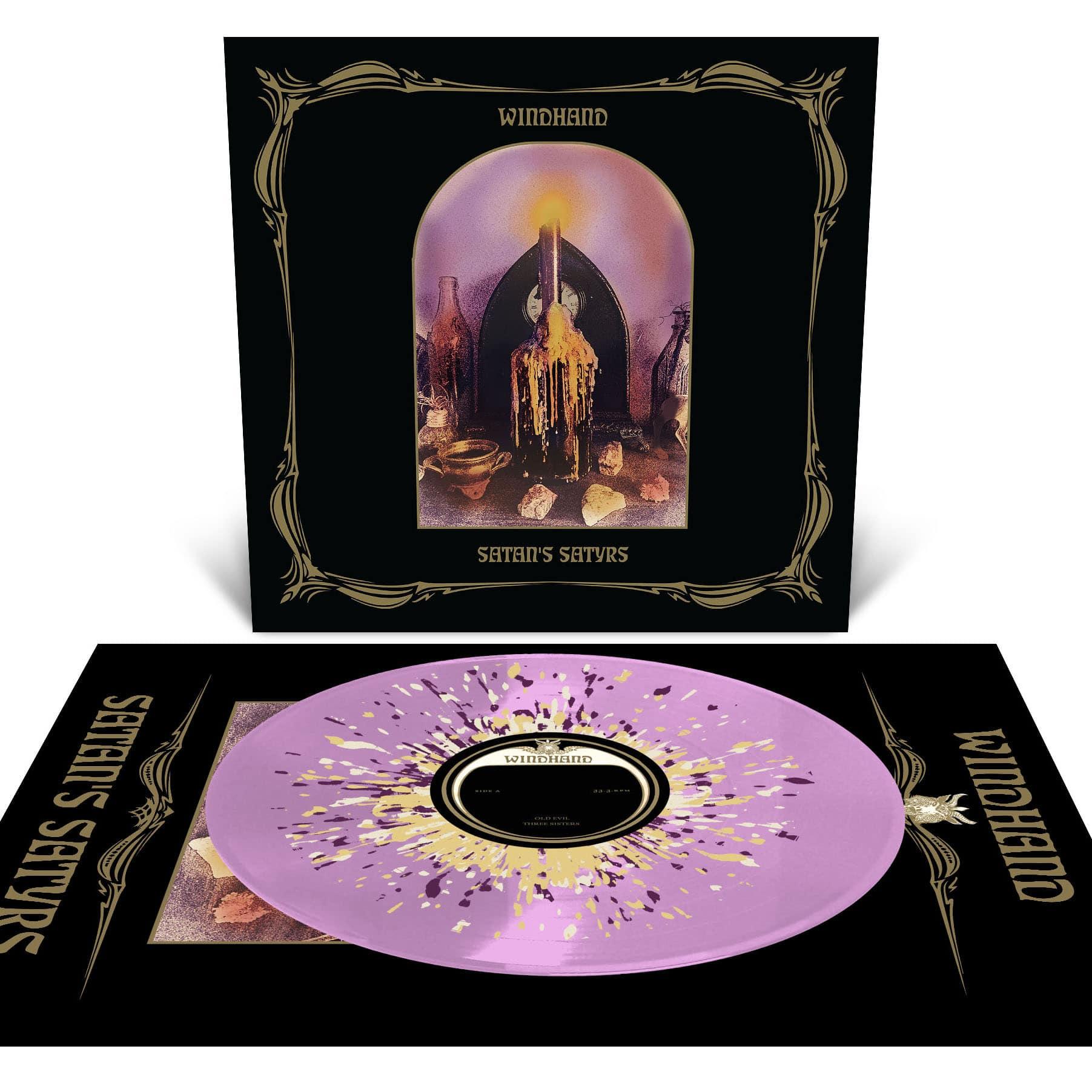 "Windhand / Satan's Satyrs 12"" ( Pink / Splatter)"