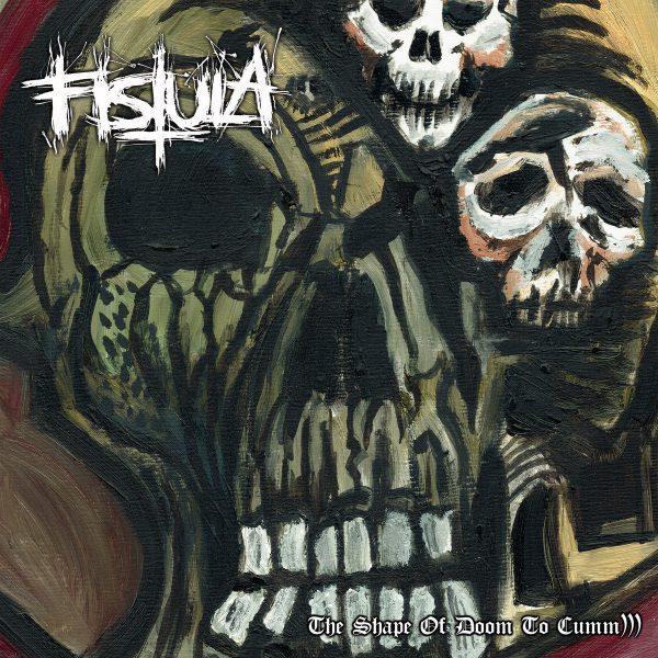Fistula – The Shape Of Doom To Cumm))) 12″ (Green & Red Vinyl )