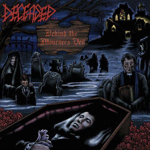 """Deceased – Behind The Mourner's Veil 12"""" ( Blue / Red Vinyl )"""