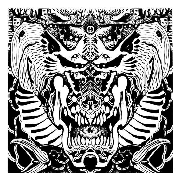"Birushanah / Monarch 12"" split ( White Vinyl )"