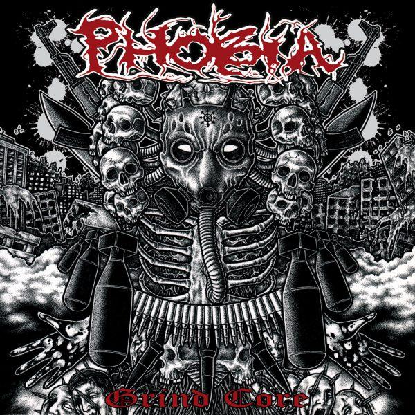 """Phobia – Grind Core 7"""" (Brown Vinyl)"""