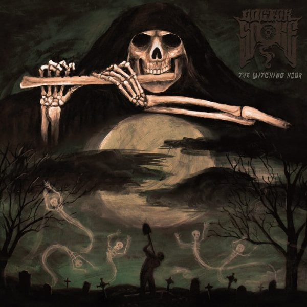 """Doctor Smoke – The Witching Hour 12"""" (Transparent Black Vinyl)"""