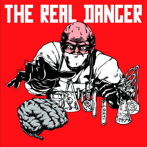 "The Real Danger ‎– The Real Danger 12"" (Red Vinyl)"
