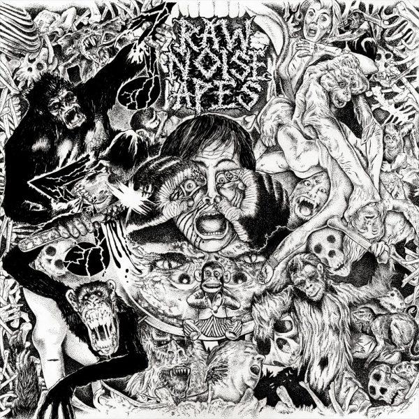 "Raw Noise Apes – Electroconvulsive Blast Orgy 10"""