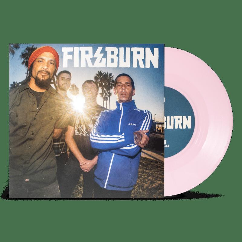 "Fireburn – Shine 7"" ( Red & Pink Vinyl )"