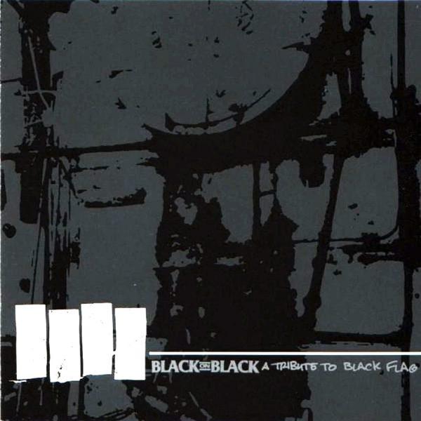 "v/a - Black On Black (A Tribute To Black Flag) 12"" ( Green Marbled Vinyl )"