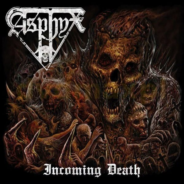"Asphyx – Incoming Death 12"" (Green Vinyl)"