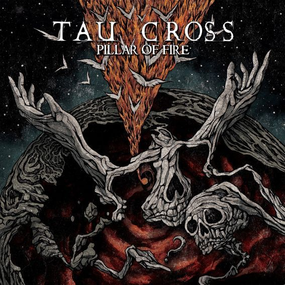 "Tau Cross ‎– Pillar Of Fire 2x12"" (Splatter Vinyl)"